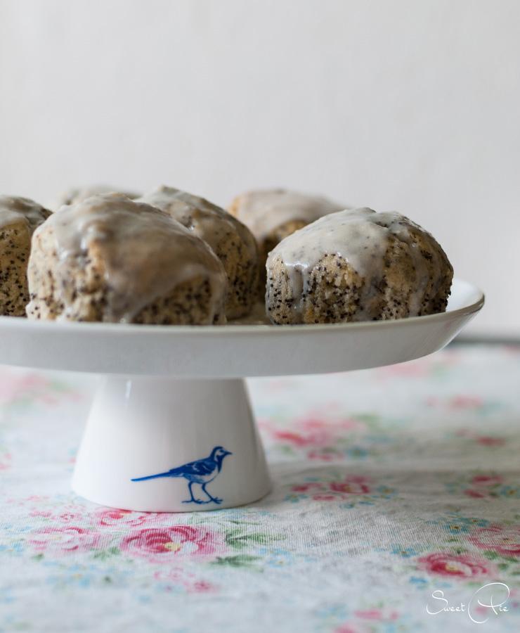 Zitrone Mohn Muffins
