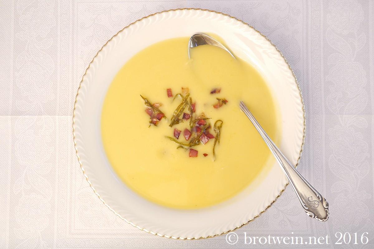 Herzhaft wird es bei Brotwein mit dieser Rondini Suppe.