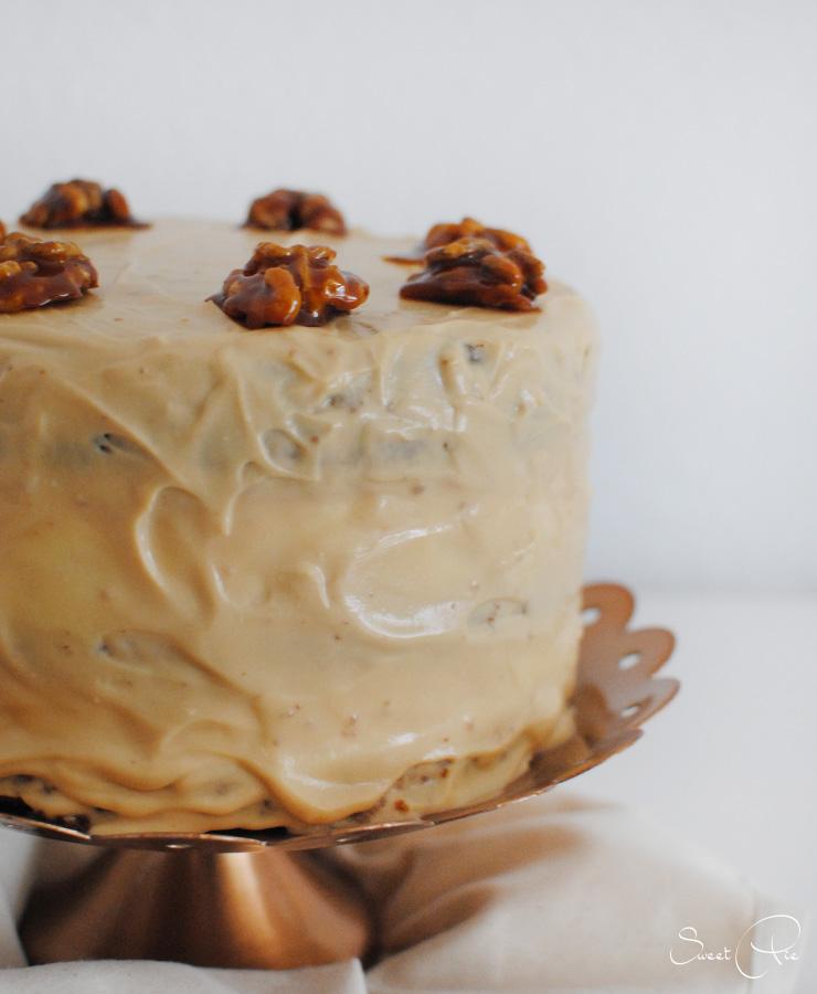 Apfel Walnuss Karamell Torte 3 Mohreneck