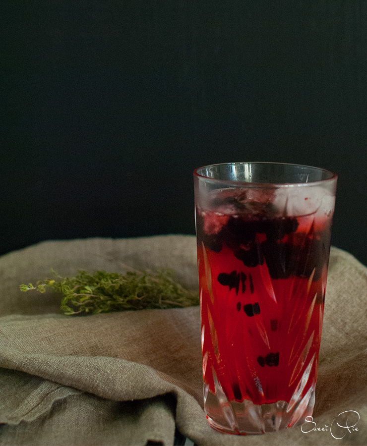 Blueberry Ginger Gin