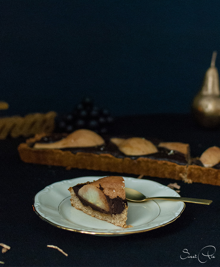 birnen-schokoladen-karamell-tarte