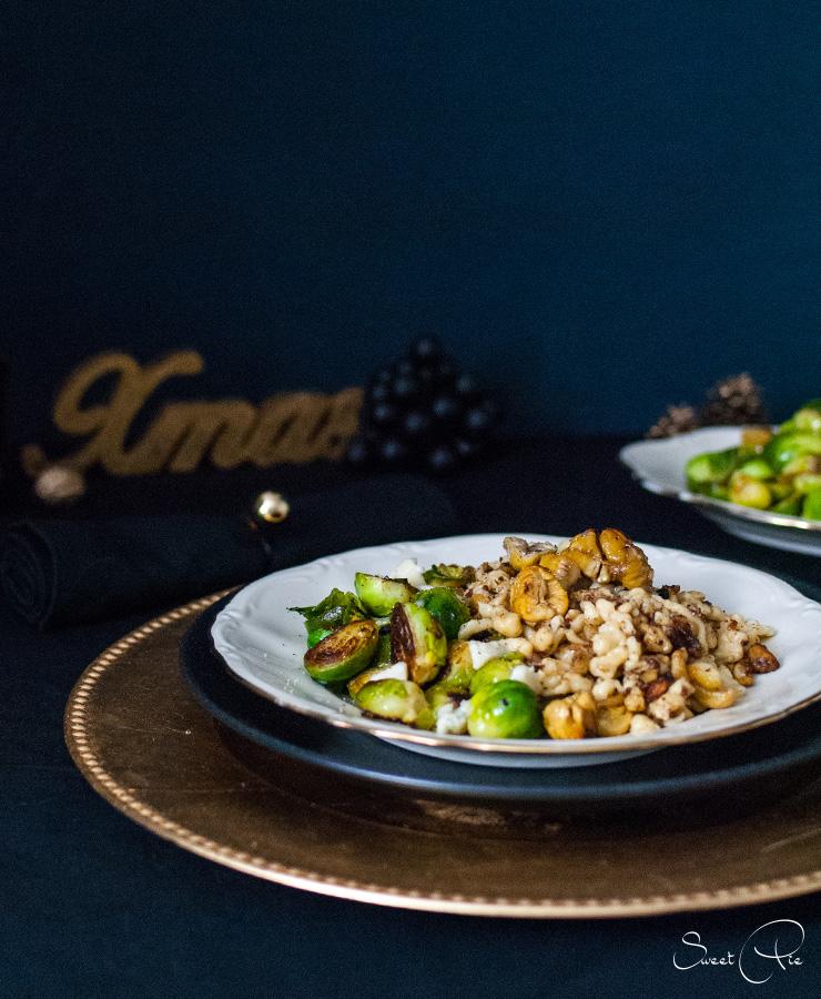 maronen-spaetzle-mit-gorgonzola-rosenkohl