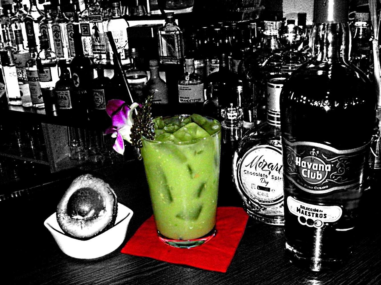 Der tolle grüne Konquistador von Cocktailsworld schindet auf jeden Fall Eindruck!