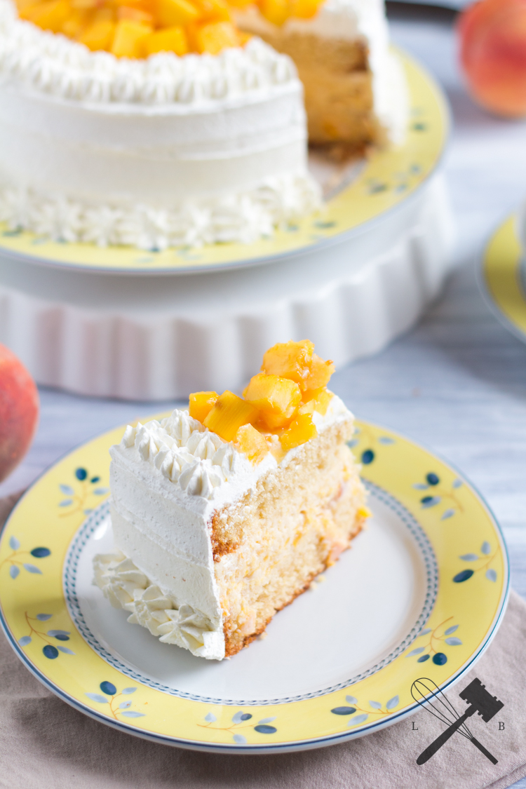 Peaches & Cream Cake 3