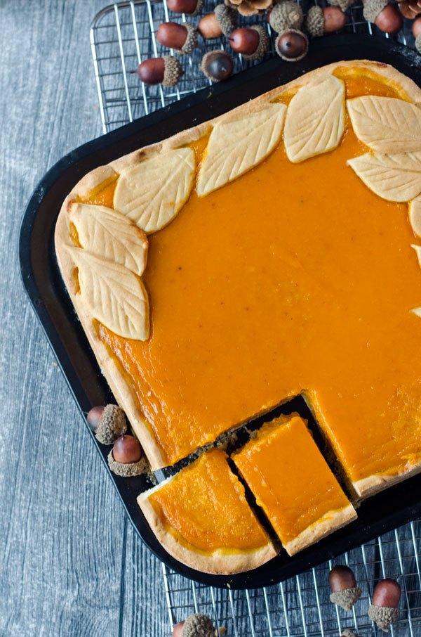Marsha von Eine Prise Lecker hat sich an einem italienischen Kürbiskuchen gewagt und ist begeistert.