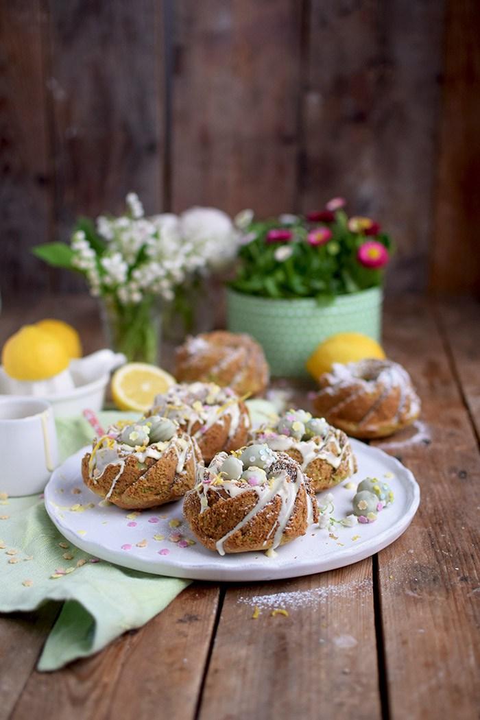 Diese schönen Zitronen Avocado Gugel wurden von Das Knusperstübchen gebacken. Die machen in dieser hübschen Form echt was her!