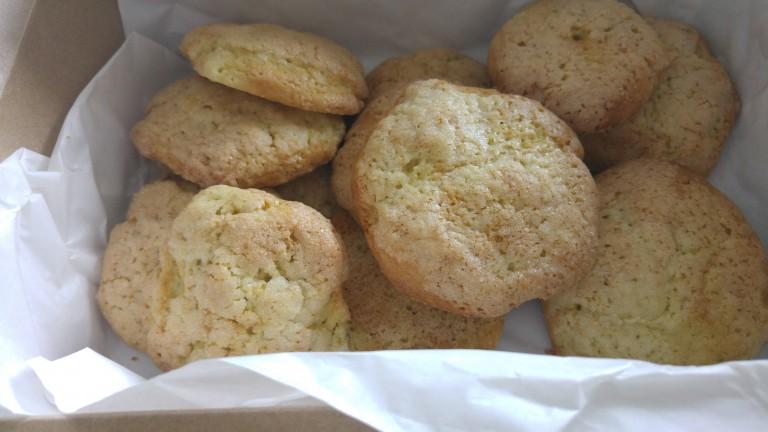 Eine weitere Cookie Kreation kommt von Kätheskekse. Bei ihr gibt es Zitronen Avocado Plätzchen.