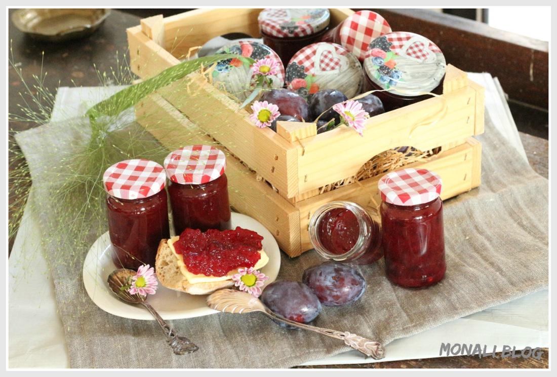 Ein Klassiker unter den Rezepten: Zwetschgen Marmelade von Monali.