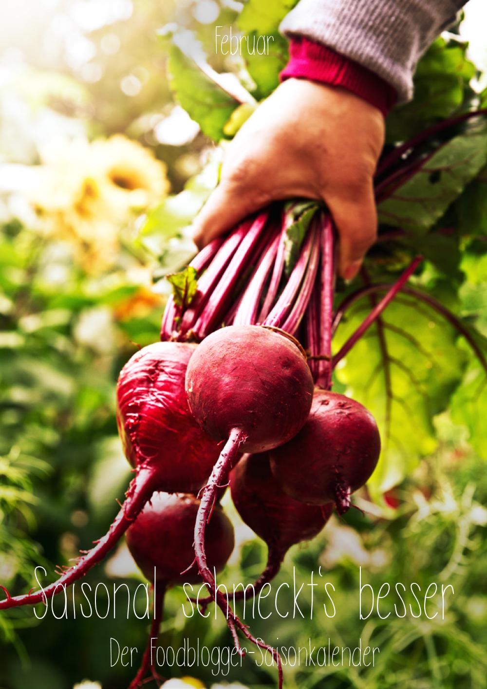 Saisonal schmeckts besser - Der Foodblogger Saisonkalender - Februar
