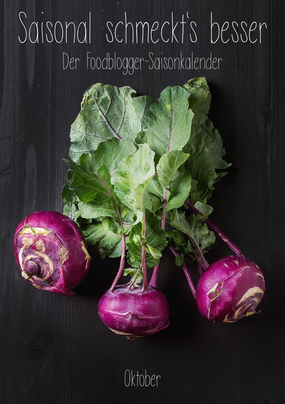 Saisonal schmeckts besser - Der Foodblogger Saisonkalender - Oktober