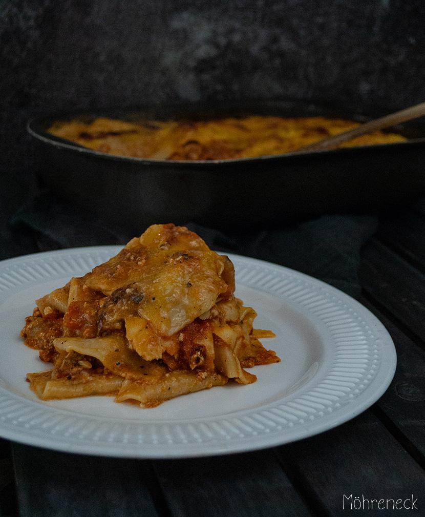 Kürbis-Tofu-Lasagne