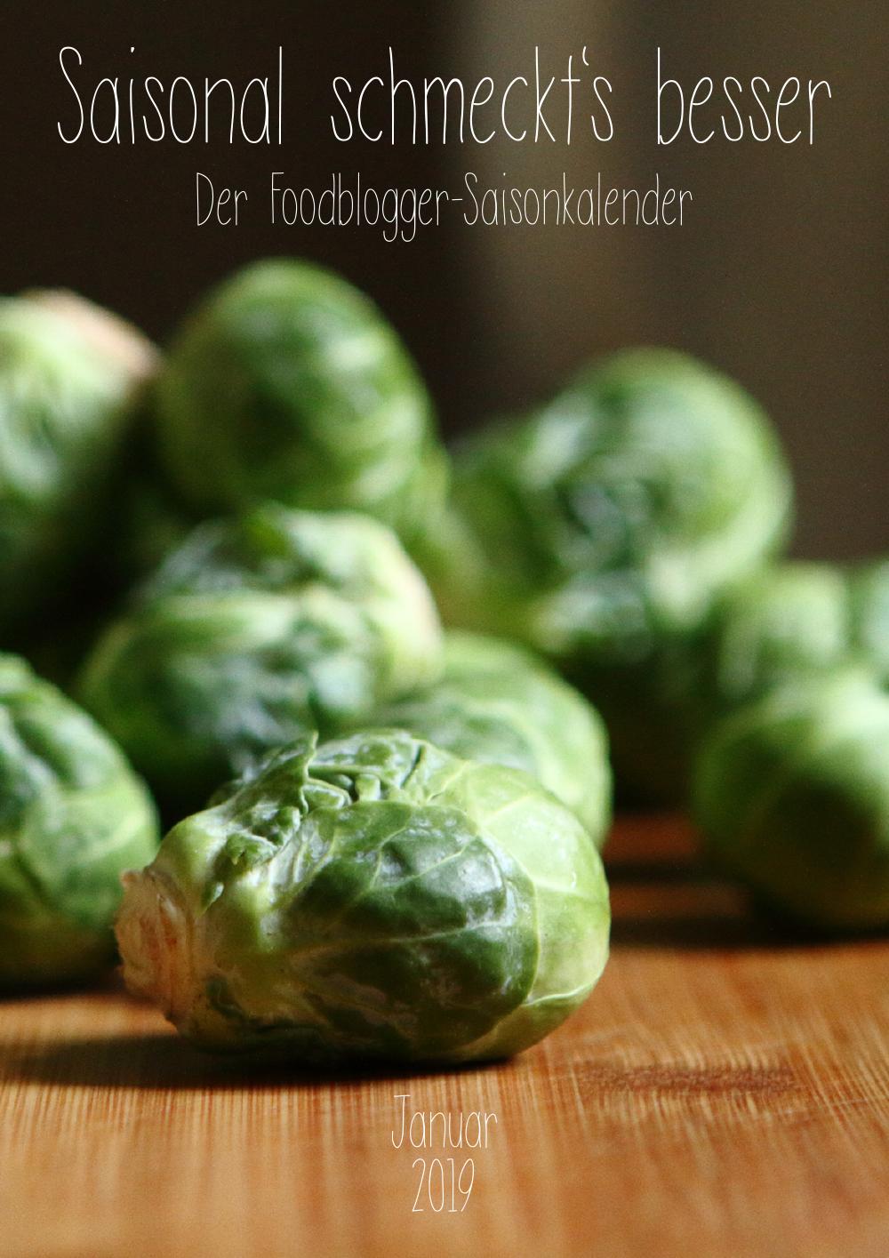 Saisonal schmeckts besser - Der Foodblogger Saisonkalender - Januar 2019