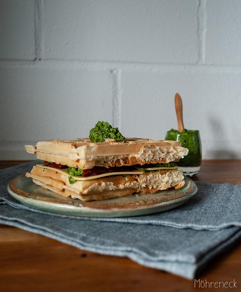 Waffel-Sandwich