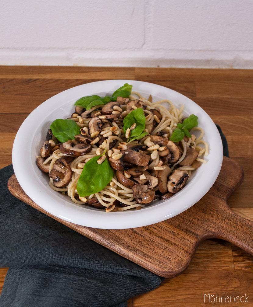 Champignon-Pasta