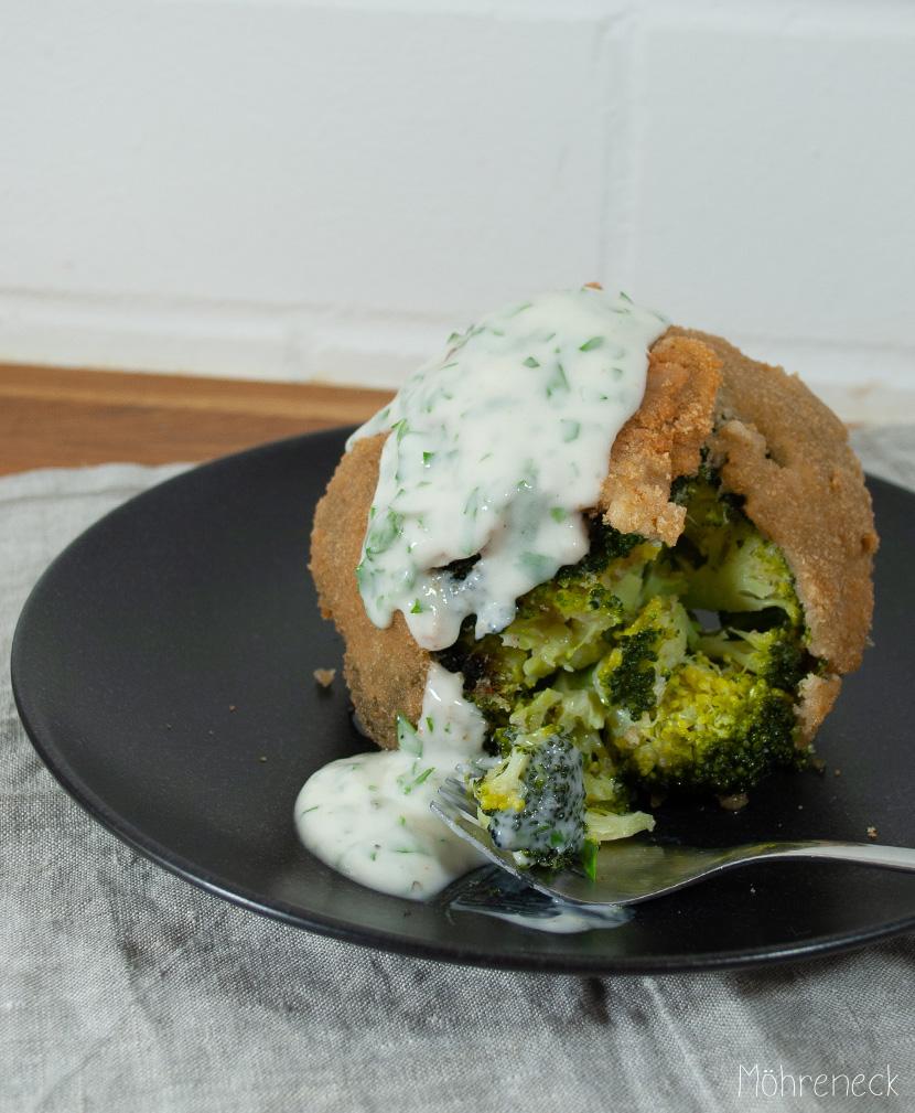 frittierter Brokkoli