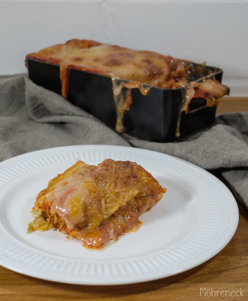 Cannelloni mit Wirsing