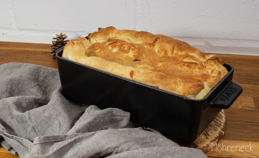 Kartoffel-Pilz-Pastete