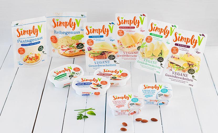Gewinne drei buntgemischte Produktpakete von Simply-V
