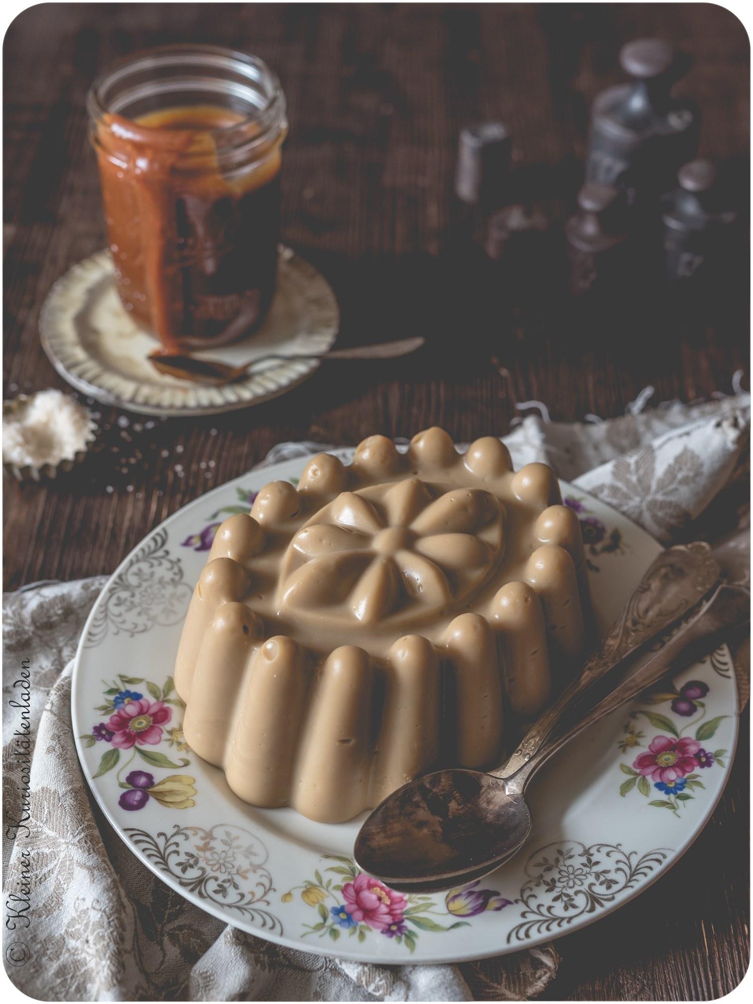Butterscotch Pudding mit Salted Caramel von Kleiner Kuriositaetenladen