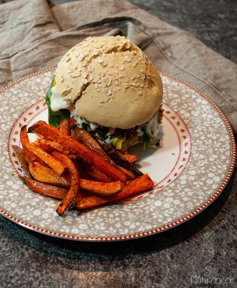 Bärlauch-Burger