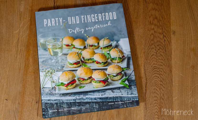 Buchvorstellung Party- und Fingerfood