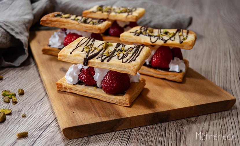 Erdbeer-Schnittchen
