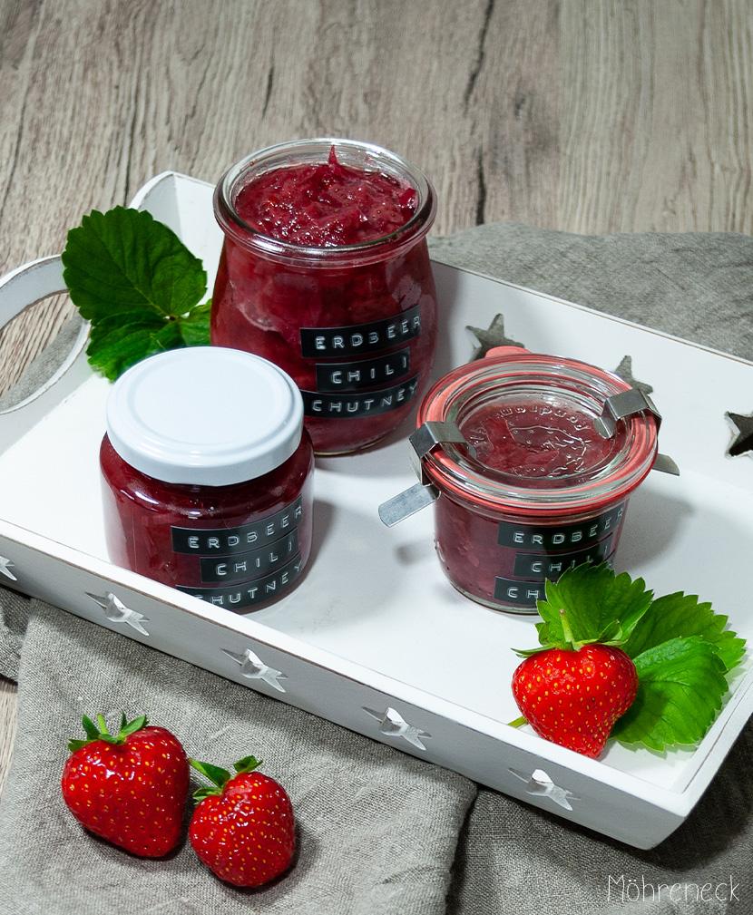 Erdbeer-Chili-Chutney