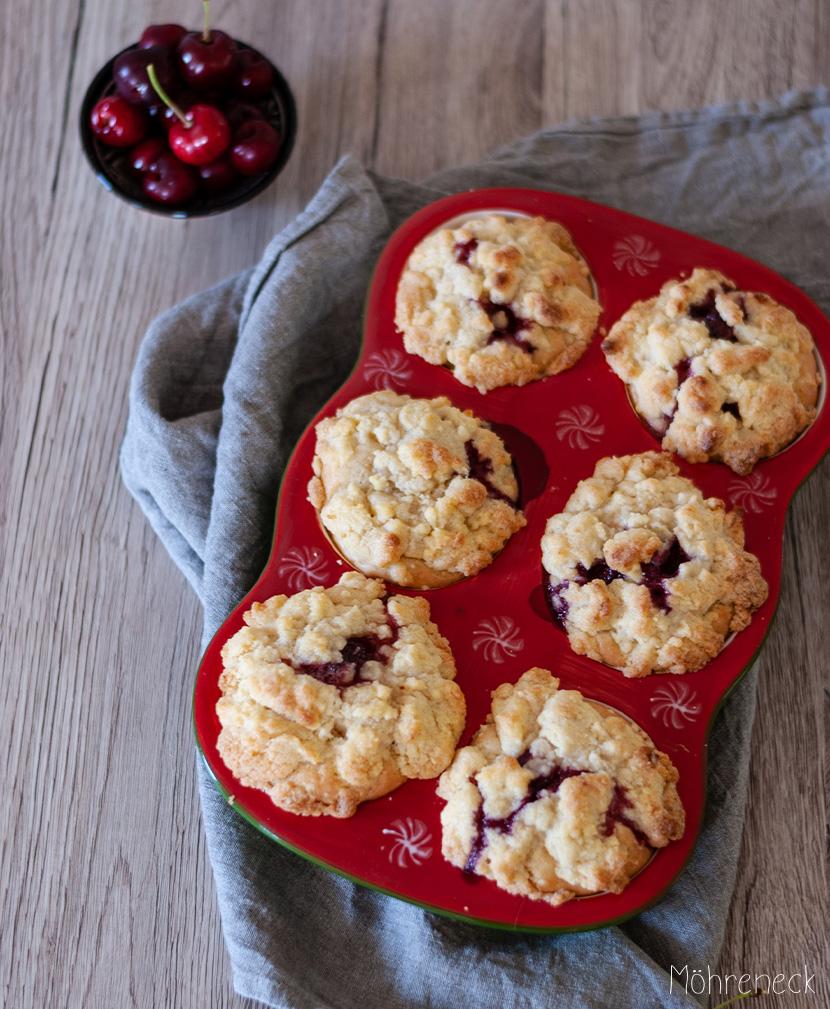 Kirsch-Streusel-Muffins