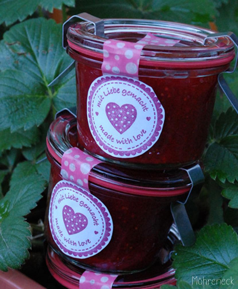 Erdbeer-Balsamico-Marmelade