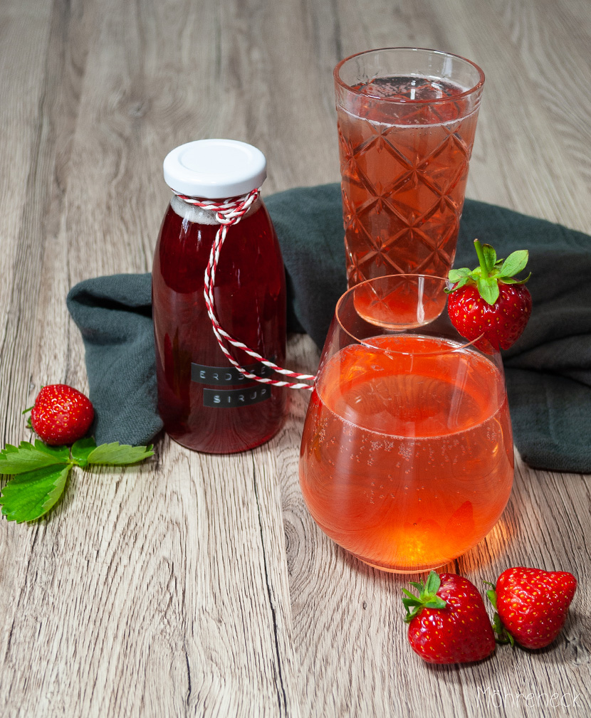 Erdbeeren haltbar machen: Erdbeersirup