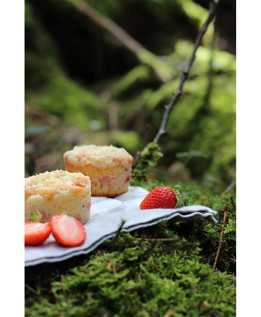 Erdbeer-Streusel-Muffins von evchenkocht