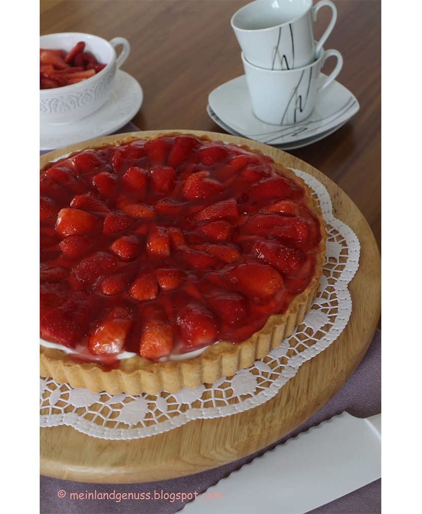 Erdbeer Crostata von Mein Land- und Gartengenuss