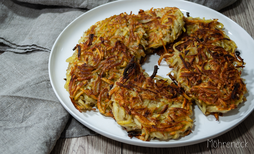 vegane Kartoffelpuffer