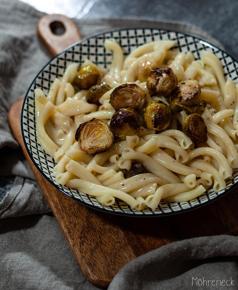 Knoblauch-Weißwein-Pasta
