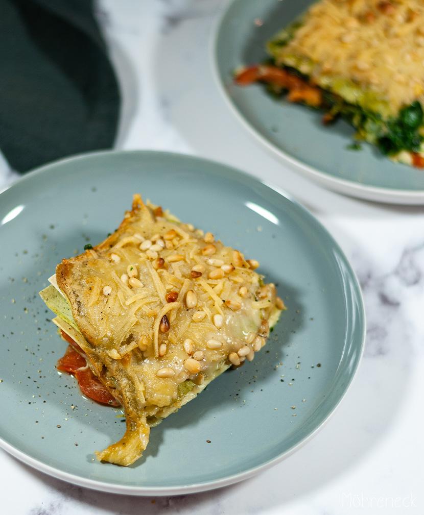 Spinat-Lasagne Bianco